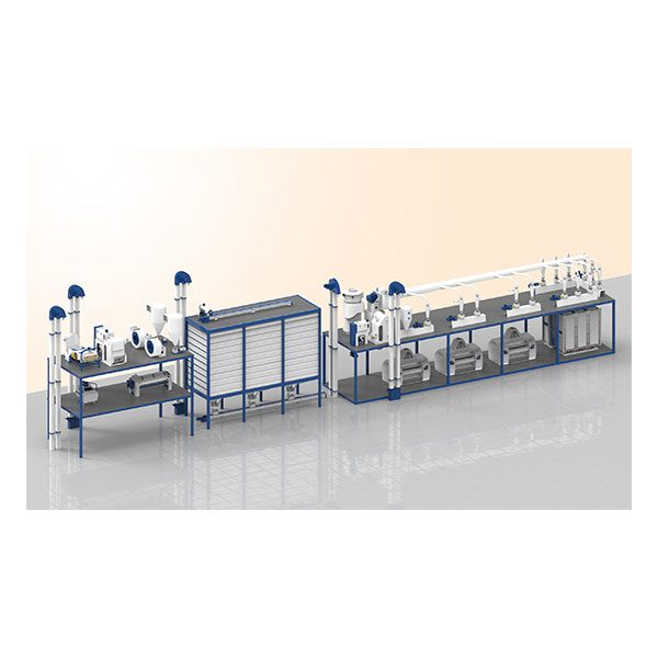3 Roller Compact Mill