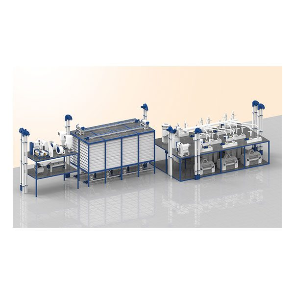 6 Roller Compact Mill