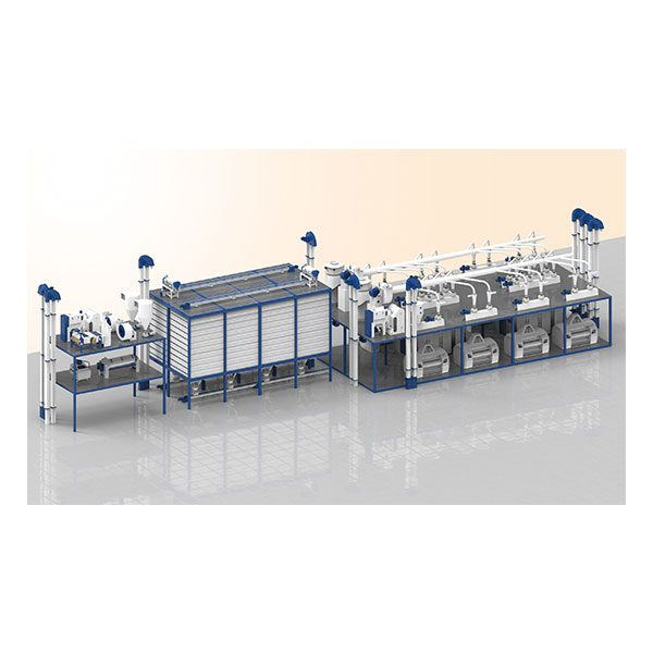 8 Roller Compact Mill