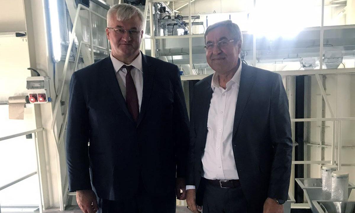 Ukrayna Büyükelçisi Taşpınar'da